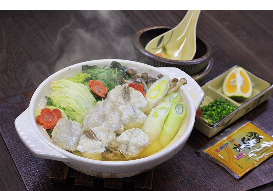 国産まふぐちり鍋用200g 調理例
